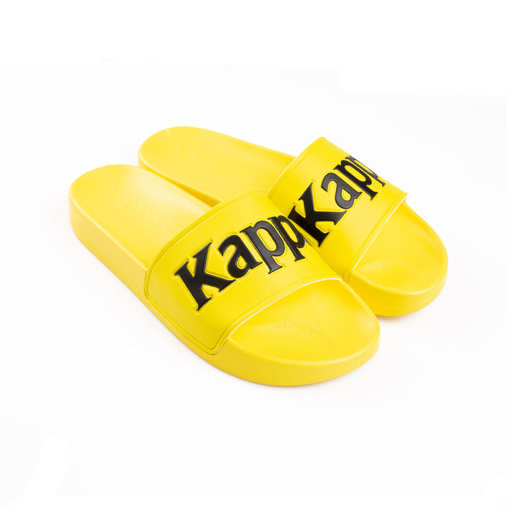 Kappa 222 Banda Adam 9 Yellow Fluo Black Slides