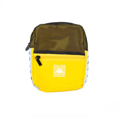 222 Banda Dortis Reflective Crossbody Bag Yellow Grey Reflective