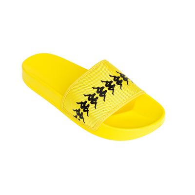 222 Banda Adam 12 Yellow Fluo Black Slides