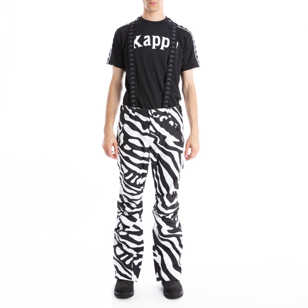 6Cento 622P Ski Pants - Black White Zebra