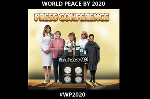2019 - Happy New Year from the WORLD PEACE BY 2020 Movement