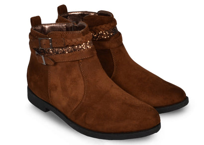 Bottines Sophie marrons