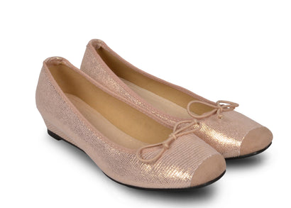 Ballerines nudes Frederica - Chaussures femme - Mendelia.fr