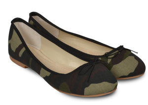 Ballerines militaires Veronica LX-5 - Chaussures femme - Mendelia.fr