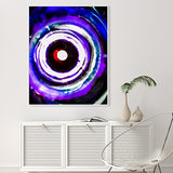 At the bottom of the Sea, your Eyes No. 2 (modern Abstract Art in Blues) | Limited Edition