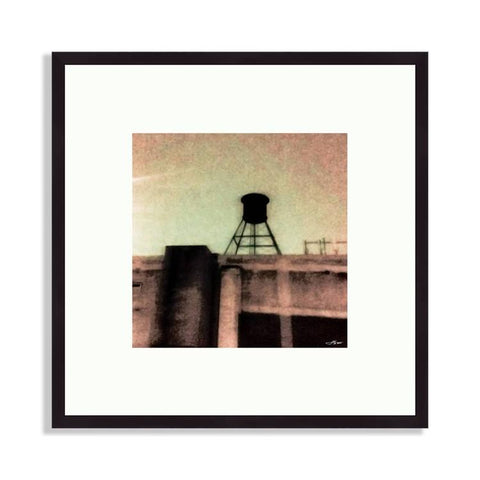 Brooklyn - Brooklyn Water Tower In Gothic Style | Limited Edition - jspfinearts