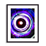 Abstract - At The Bottom Of The Sea, Your Eyes No. 2 (Modern Abstract in Blues) | Limited Edition - jspfinearts