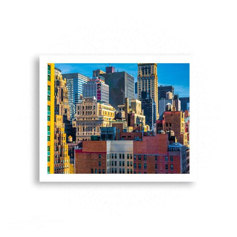New York City - Zooming in on the NYC Skyline | Limited Edition - jspfinearts