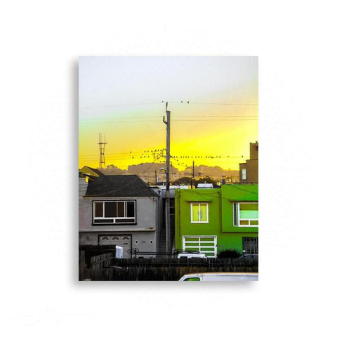 San Francisco - Ocean Avenue Sunrise | Limited Edition - jspfinearts