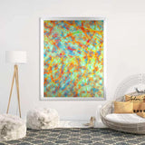 Abstract - Abstract Tree In Full Color | Limited Edition - jspfinearts