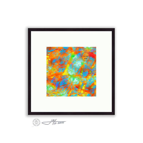 Abstract - Abstract Tree Detail 1 | Limited Edition Framed - jspfinearts