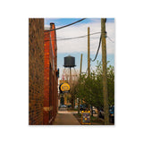 A Chicago Alley Watertower In Full Color | Limited Edition Fine Art Photography