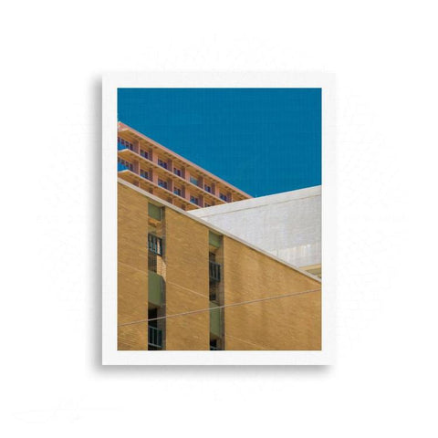Dallas - Dallas Line Up - Architectural Geometry | Limited Edition - jspfinearts