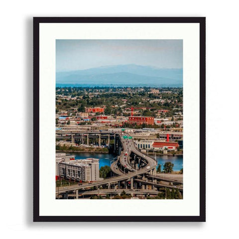Oregon - Marquam Over Willamette | Limited Edition - jspfinearts