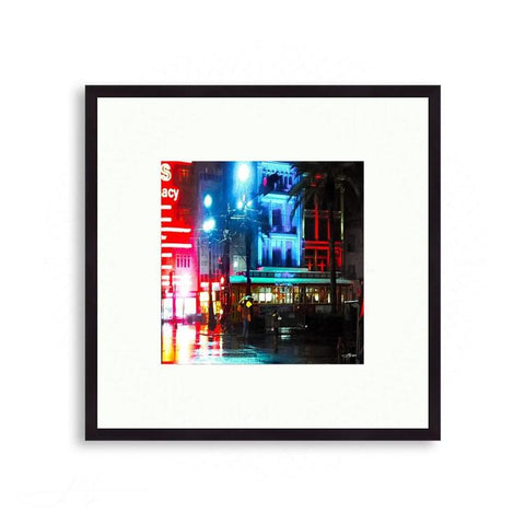 New Orleans - Colorful Canal Street - New Orleans | Limited Edition - jspfinearts