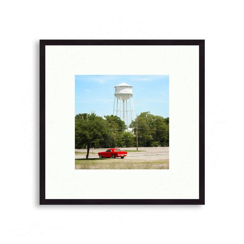 Texas - Red Hotrod | Limited Edition - jspfinearts