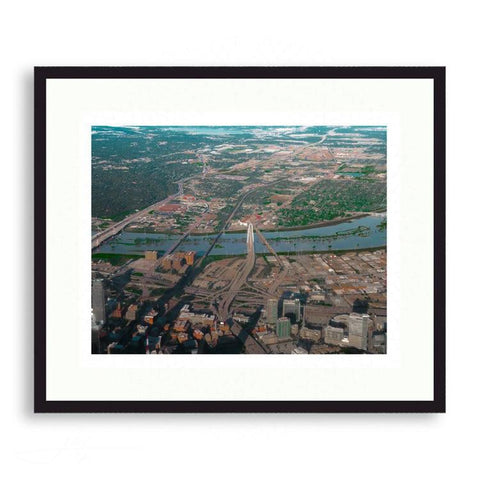 Dallas - The Trinity River Filling its Banks | Limited Edition - jspfinearts