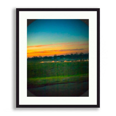 Landscapes - Sun Rising On A Farmstead | Limited Edition - jspfinearts