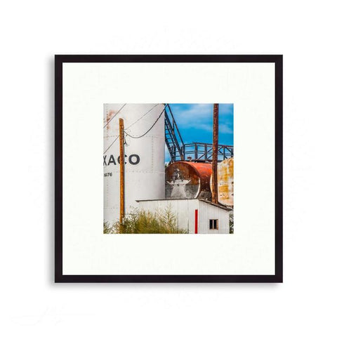 Texas - Texaco Xaco, 16176 - Color Blocking Marfa TX | Limited Edition - jspfinearts