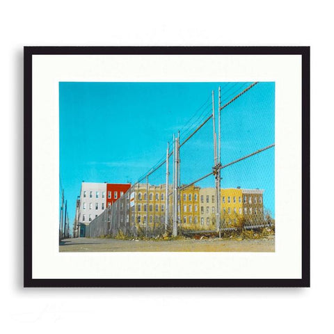Americana - Old New York Row Houses | Limited Edition - jspfinearts