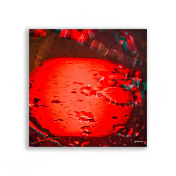 Abstract - Abstract Nature In Red | Limited Edition - jspfinearts