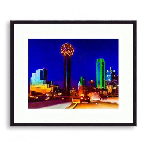 Dallas - Spectacular Dallas Nights | Limited Edition - jspfinearts