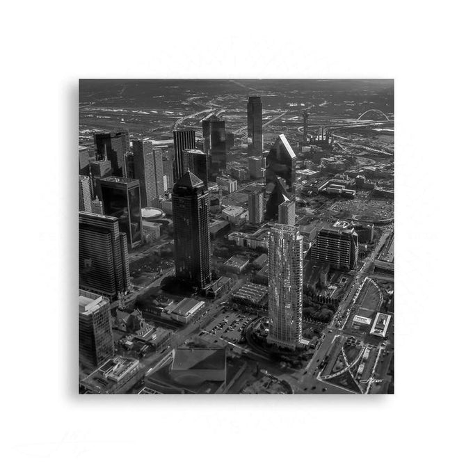 Black and White - Dallas, City of the Future | Limited Edition - jspfinearts