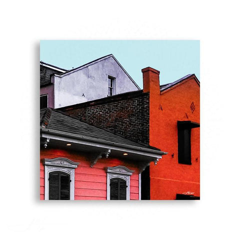 Color Blocking - New Orleans Colors - Ursulines Ave | Limited Edition - jspfinearts