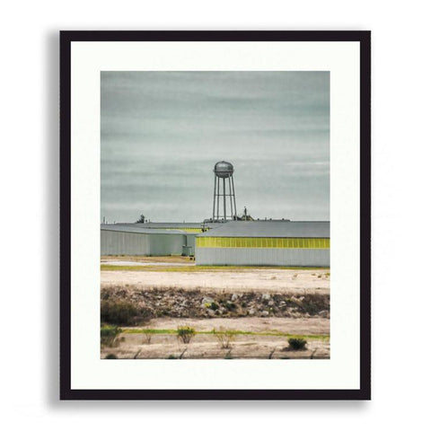 - Industrial Texas with Water Tower | Limited Edition - jspfinearts
