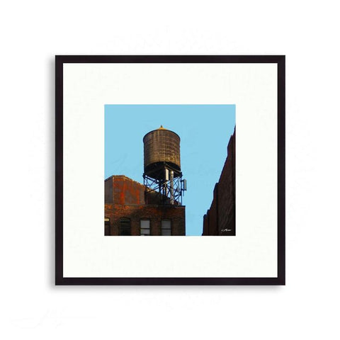 New York City - Soho Water Tower - Modern Industry | Limited Edition - jspfinearts