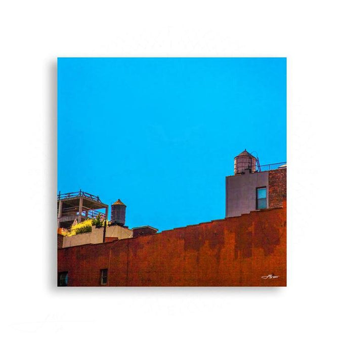 New York City - Rooftops in Manhattan | Limited Edition - jspfinearts