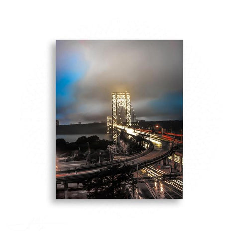 New York City - Cityscapes of New York George Washington Bridge | Limited Edition - jspfinearts