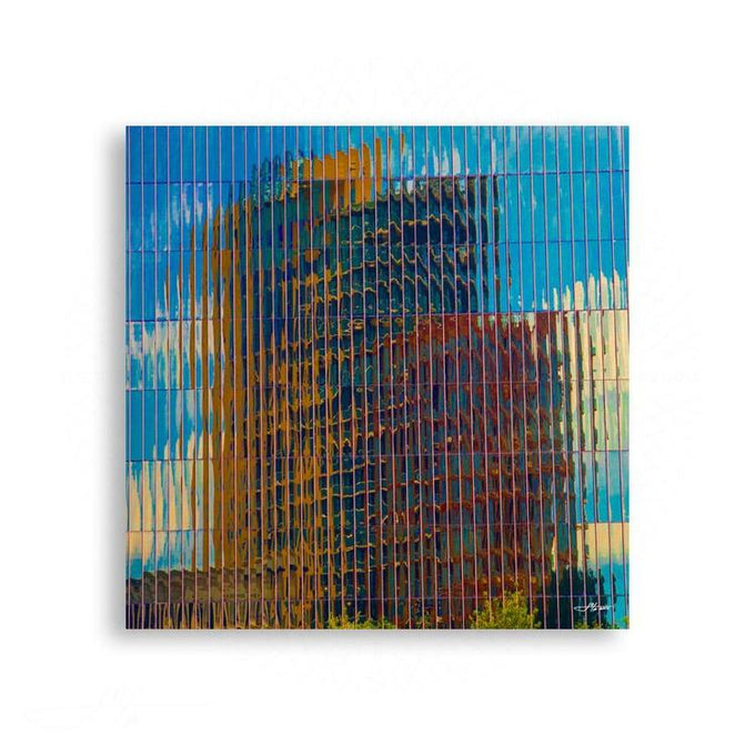 Abstract - Dallas, Upon Reflection 2 | Limited Edition - jspfinearts
