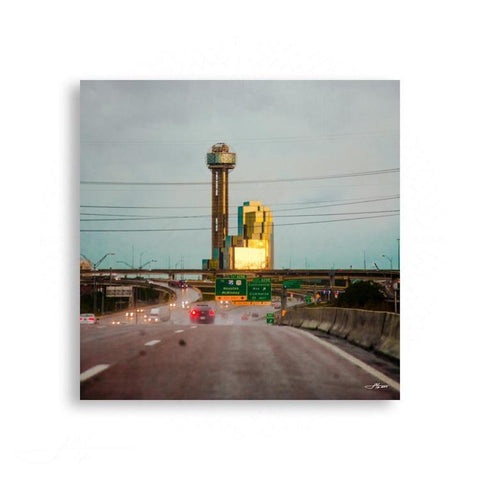 Dallas - On the Road to Reunion Tower | Limited Edition - jspfinearts
