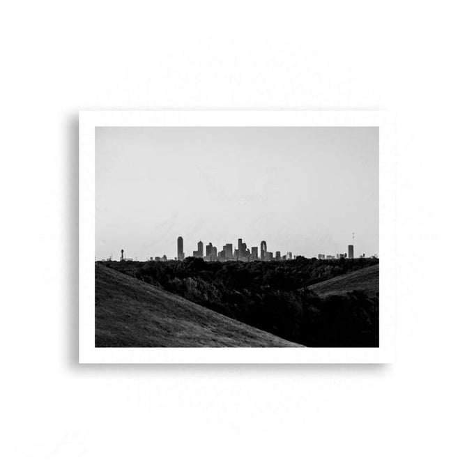Dallas - Dallas From the Hills | Limited Edition - jspfinearts