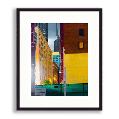 Color Blocking - Colorful Slice of Downtown Dallas | Limited Edition - jspfinearts