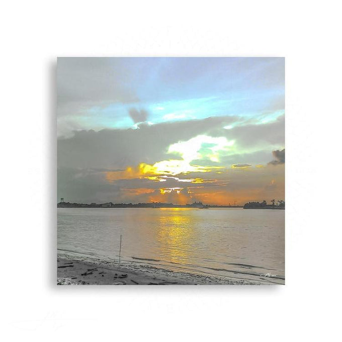 Landscapes - Sunrise over the Mississippi RIver - New Orleans | Limited Edition - jspfinearts