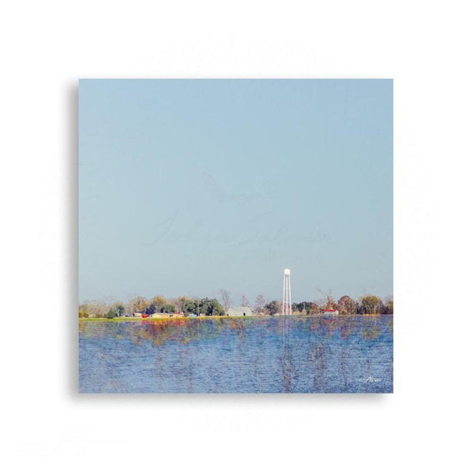Texas - Texas Pastoral Landscape With Water Tower | Limited Edition - jspfinearts