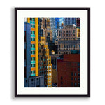 Color Blocking - Zooming in to The New York City Skyline Part 2 | Limited Edition - jspfinearts