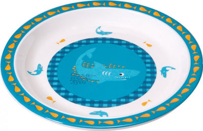 Lassig Children's Crockery - Shark Ocean