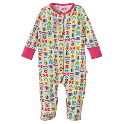 Lovely Babygrow - Soft Bumble Bloom