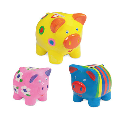 Paint a Piggy Bank Set