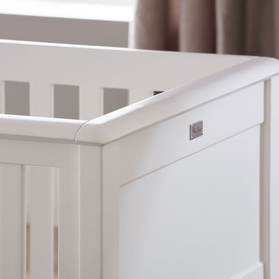 Nostalgia Pure White Complete Nursery Set