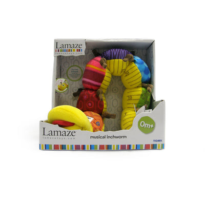 Lamaze Musical Inchworm Toy