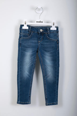 ROPA PARA NIÑOS - PANTALONE IN DENIM SUPER STRETCH