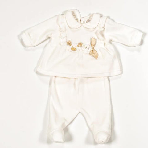 NEW BORN GIRL ROMPER