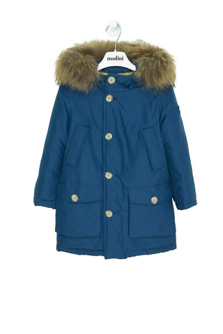 PARKA COLOR AZUL WOOLRICH