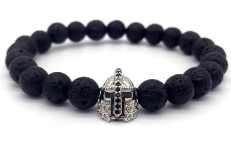 Bracelet KING QUEEN Pierre de Lave - shop le vite