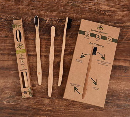 Brosses à dents en bambou biodégradable - shop le vite