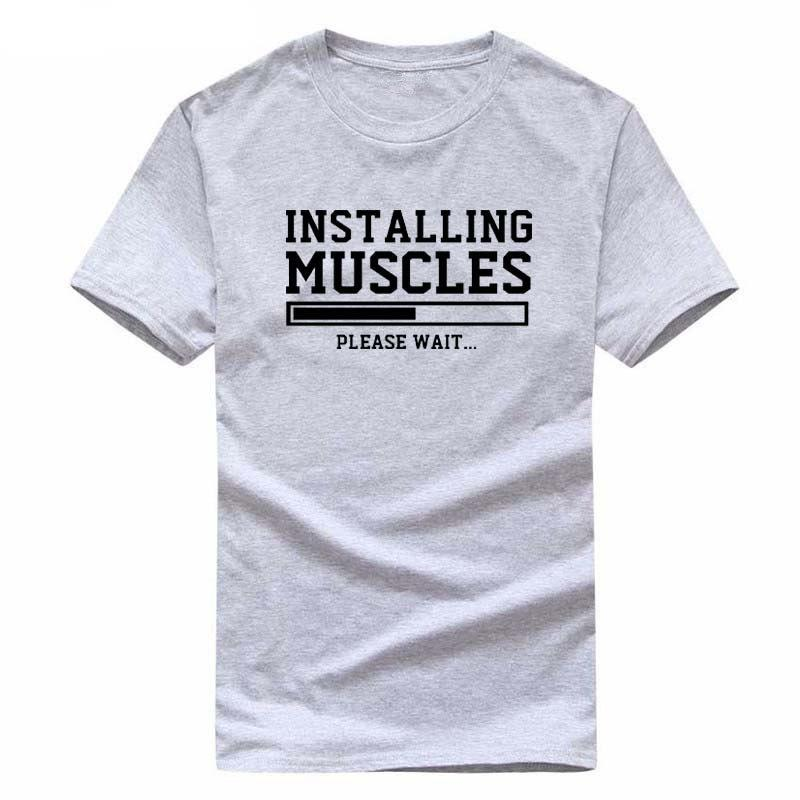 "Tshirt homme ""Intalling Muscles"" ! - shop le vite"